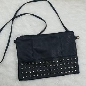 Handbags - Studded crossbody